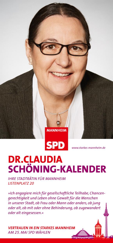 Dr. Claudia Schöning-Kalender